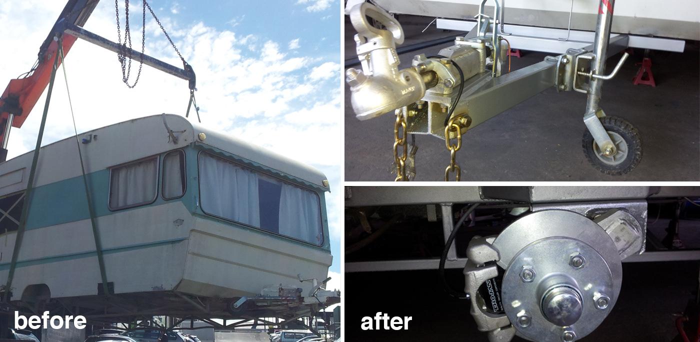 Caravan Repair - The Trailer and Caravan Repair Shop
